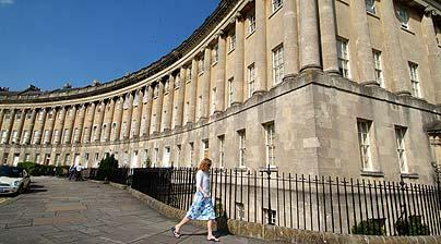 JAs home in bath